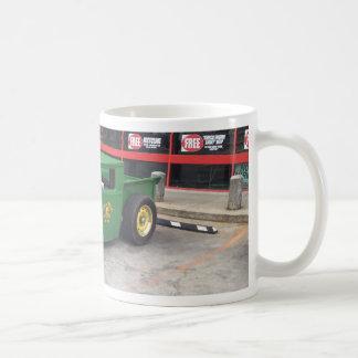 barra verde de la rata taza de café