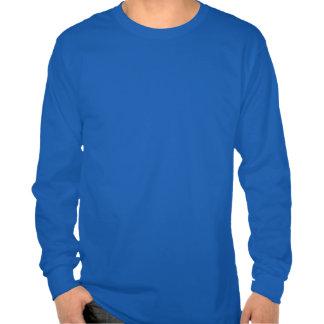 Barra y parrilla de color salmón cianóticas camiseta