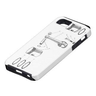 barra y pistón iPhone 5 Case-Mate carcasas