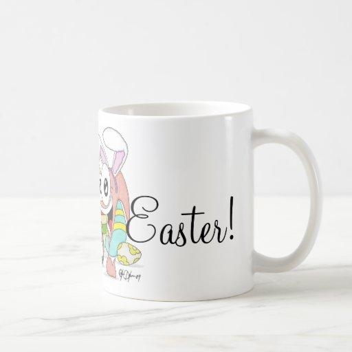 Barra y tirada estupendas Pascua Taza