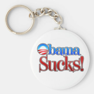 Barrack Obama Sucks Key Chain