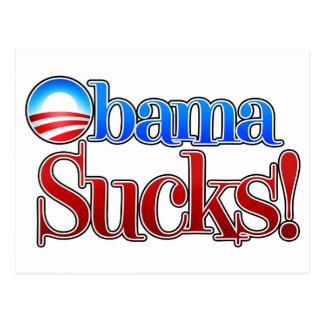 Barrack Obama Sucks Postcard