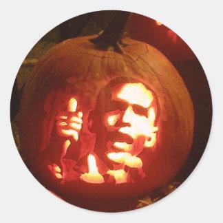 barrack Pumpkin Stickers