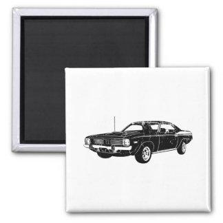 Barracuda 1970 de Plymouth Imán Cuadrado