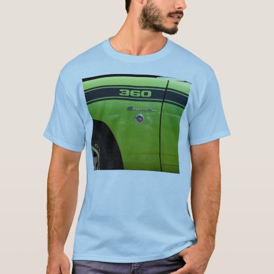 Barracuda 360 sport classic car image T-Shirt