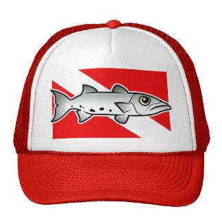 Barracuda Dive Flag Trucker Hat