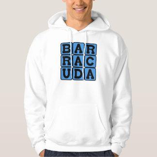 Barracuda, Fearsome Fish Hoodie
