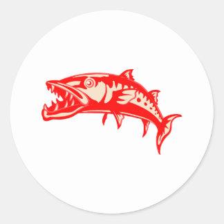 Barracuda Fish #6 Sticker