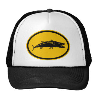 Barracuda Fish Trucker Hat