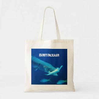 Barracuda Fish Tote Bag