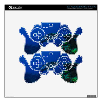 Barracuda Great Barrier Reef Coral Sea Decal For PS3 Controller