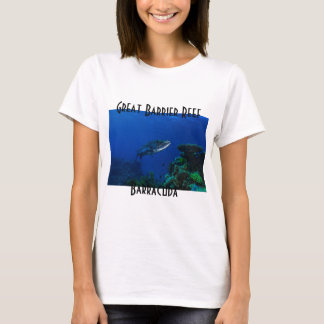 Barracuda Great Barrier Reef Coral Sea T-Shirt