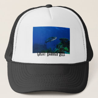 Barracuda Great Barrier Reef Coral Sea Trucker Hat