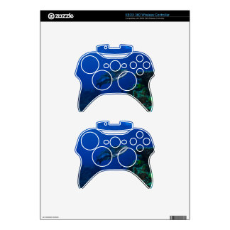 Barracuda Great Barrier Reef Coral Sea Xbox 360 Controller Skin