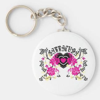 Barracuda Heart Key Chain