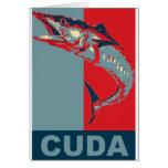 Barracuda Icondized Greeting Card