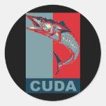 Barracuda Icondized Sticker