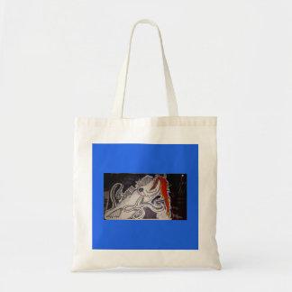 Barracuda/Octopus Tote Bag