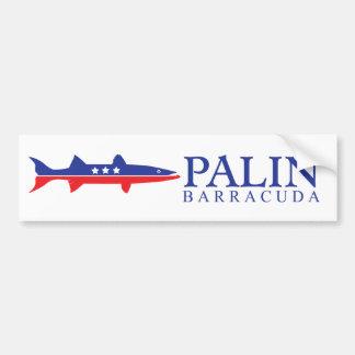 Barracuda Palin de Sarah Pegatina Para Auto