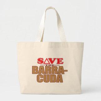 Barracuda Save Large Tote Bag