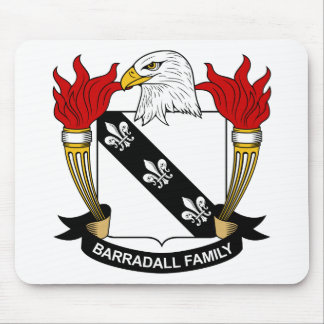 Barradall Family Crest Mouse Pad