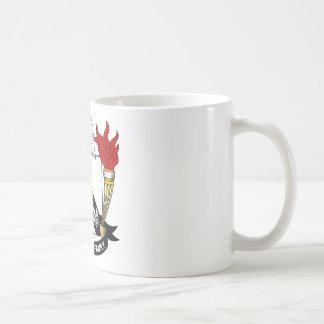 Barradall Family Crest Classic White Coffee Mug