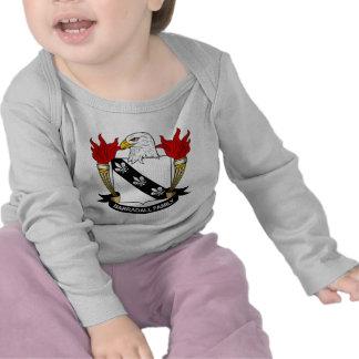 Barradall Family Crest Tshirt