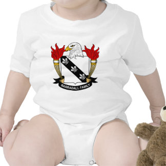 Barradall Family Crest T-shirts