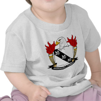 Barradall Family Crest T-shirt