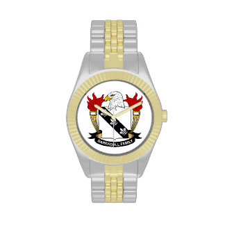 Barradall Family Crest Wristwatches