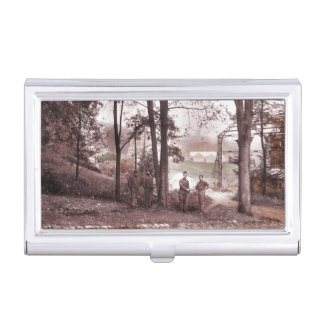 Barrage Balloon Factory France Business Card Holder