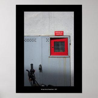 Barrage Gaz - Urban Poster