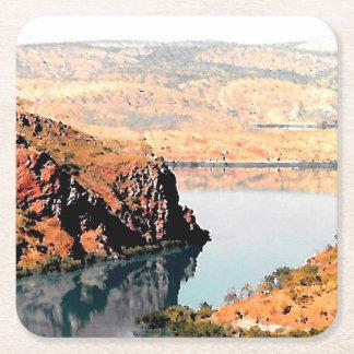 Barramundi Bay, Square Paper Coaster