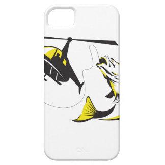 Barramundi Heli Fishing Retro iPhone SE/5/5s Case