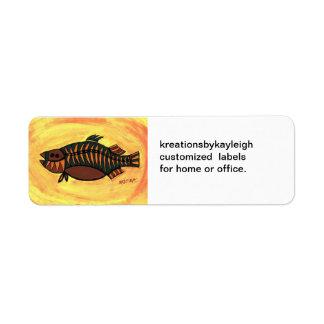 Barramundi Label