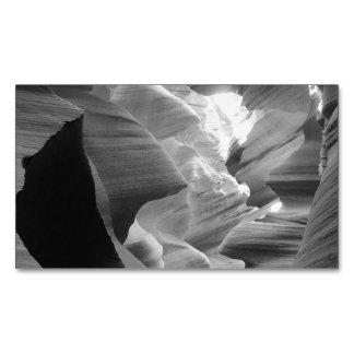 Barranco 2 del antílope de B&W Tarjetas De Visita Magnéticas (paquete De 25)
