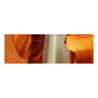Barranco Arizona del antílope Tarjetas De Visita