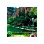 Barranco colgante Colorado de Glenwood del lago Tarjeta Postal