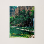 Barranco colgante Colorado de Glenwood del lago tr Rompecabezas