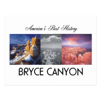 Barranco de ABH Bryce Tarjeta Postal