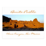 Barranco de Chaco del pueblo del bonito en la Postal