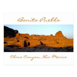 Barranco de Chaco del pueblo del bonito en la pues Tarjeta Postal