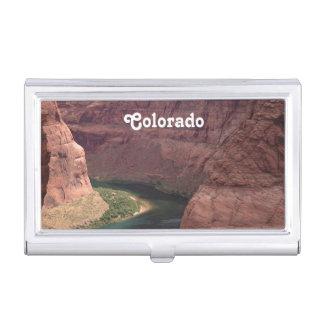 Barranco de Colorado Cajas De Tarjetas De Negocios