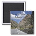 Barranco de Glenwood - imán de Colorado