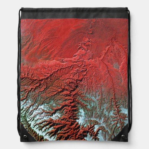 Barranco de la desolación de Landsat 7 Mochila