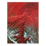 Barranco de la desolación de Landsat 7 Postal