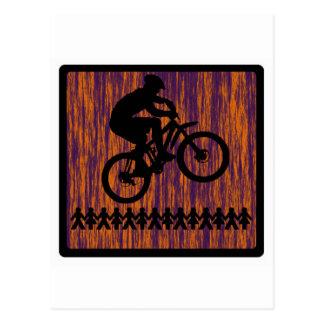 Barranco de la ranura de la bici postal