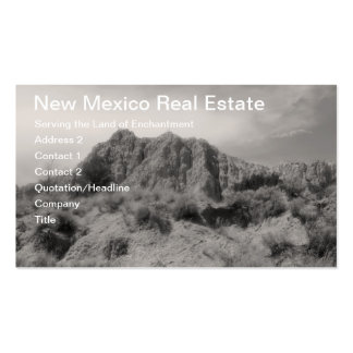 Barranco de New México Tarjetas De Visita