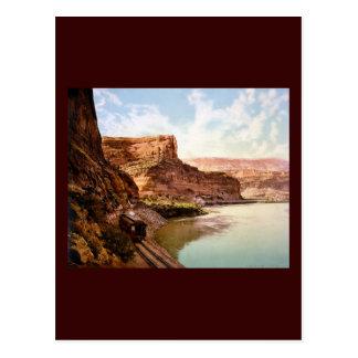 Barranco de rubíes el río Colorado Postal