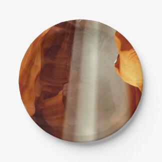 Barranco del antílope platos de papel